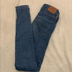 Levi's 720 High waisted skinny jeans